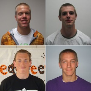 Athletes of the Week: Wyatt Fowler, Adam Flick, Lake Ingle, Hayden Zook (Boys 3200 Relay)