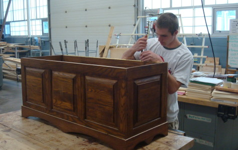 Students Show Off Exceptional Carpentry Skills