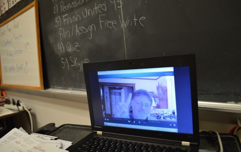 Injured social studies teacher uses technology to connect with students