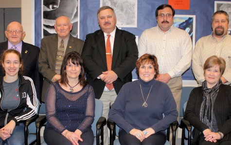 School Board approves new eagle statue and course book at January monthly meetings