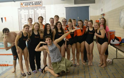 Tyrone swim team's regular season comes to a successful close