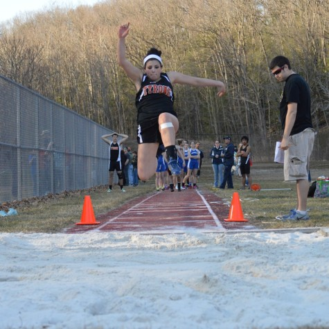 Tyrone boys and girls track score double win vs. Huntingdon and Central