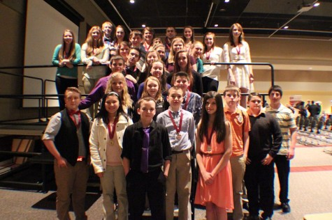 TAHS/MS advances 25 students to the state History Day Competition