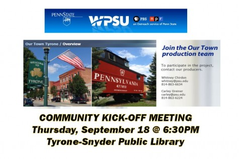 WPSU 'Our Town' series to shoot documentary in Tyrone