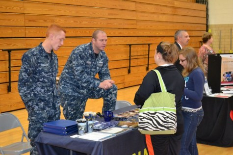Annual career fair features over 25 businesses and schools
