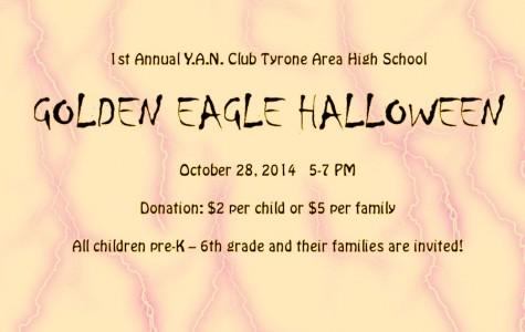 TAHS YAN club to sponser community Halloween event on Oct 28