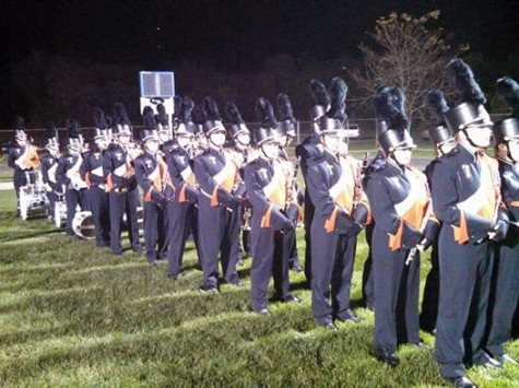 TAHS Marching Band shines at home show and at Huntingdon