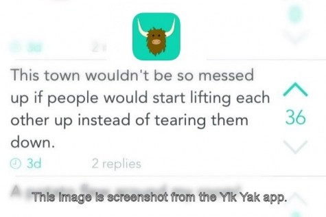 Technology Takeover: Yik-Yak app makes cyberbullying easier