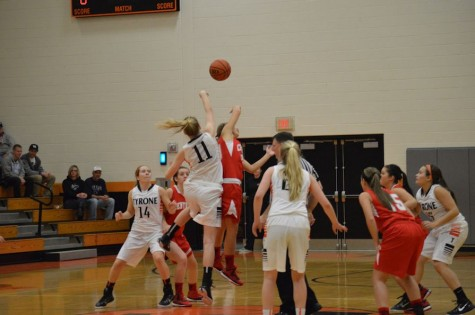 Engle puts up 21 points in 43-55 loss to the Central Lady Dragons