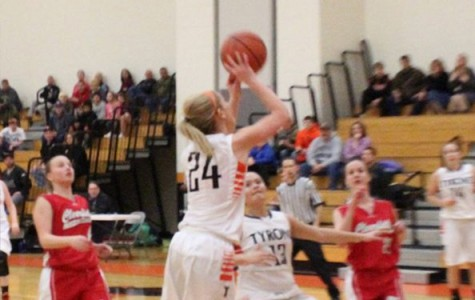 Lady Eagles even their season record with a win against Huntingdon 41-35