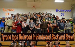 Tyrone wins hardwood version of backyard brawl 61-51