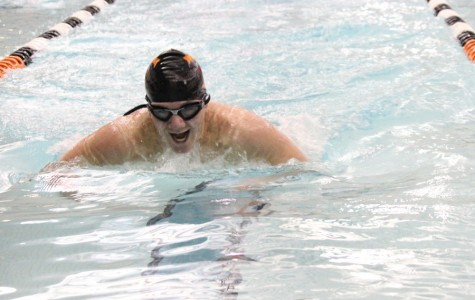 Golden Eagle swimmers face disappointing loss against Huntingdon
