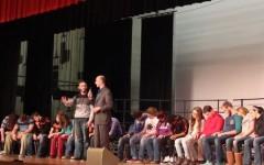 Tyrone Area High School Hypnotized!
