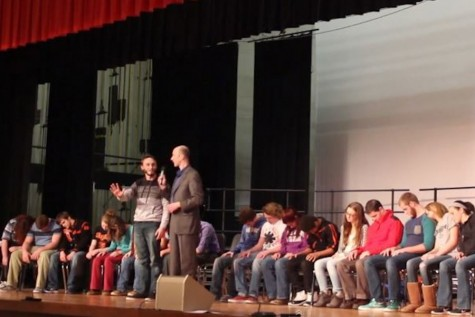 Tyrone Area High School Hypnotized!
