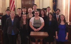 Tyrone mock trial team ends season with a win