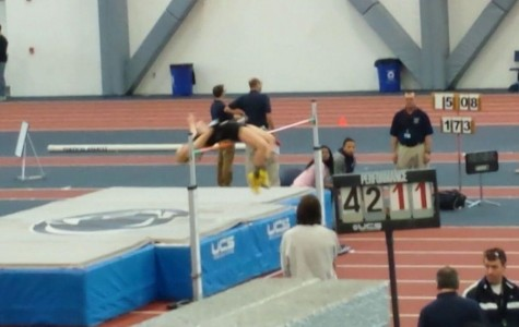 Voyzey breaks decade old high jump record at PSU Invitational