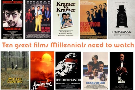 Ten great films Millennials need to watch