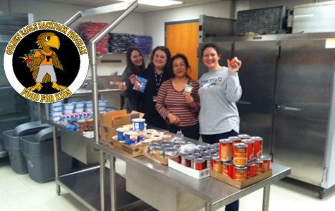 Golden Eagle Backpack Program helps feed TAES students in need