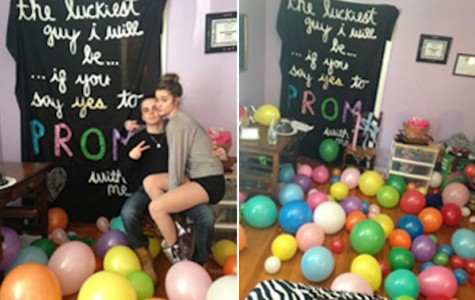 TAHS Promposal contest: A room full of balloons!