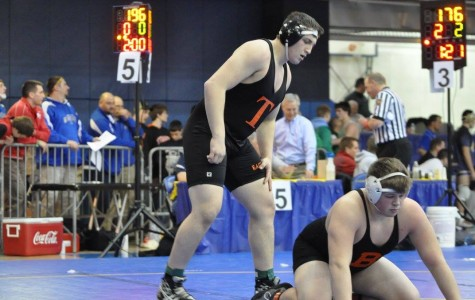 Sophomore grappler Colyer's season ends at regionals