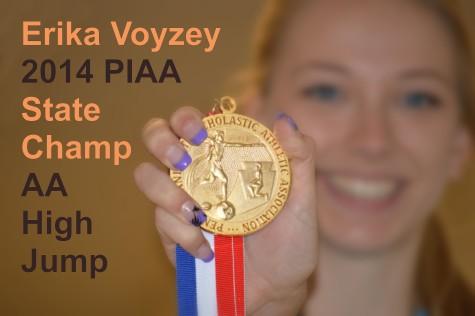 State high jump champ Voyzey dealing with injury setback