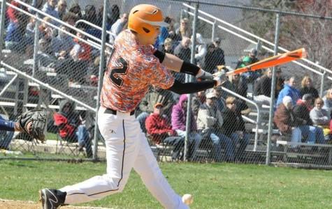 Tyrone baseball falls to Huntingdon in double header