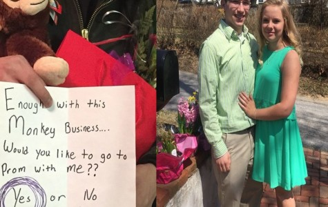 TAHS promposal contest: Monkeying around!