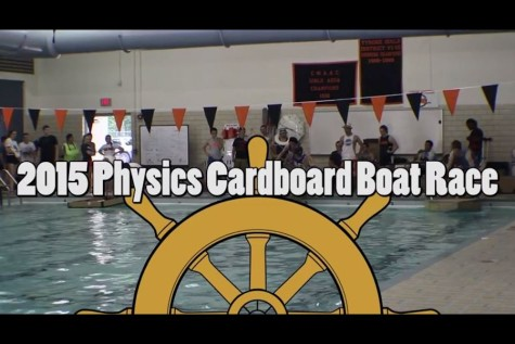 Video: Mr. Gruber's 15th annual Physics Boat Race