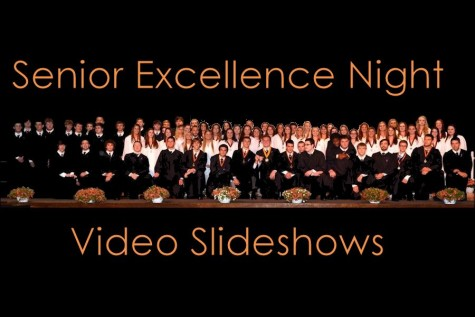 2015 Senior Excellence Night Video Slideshows
