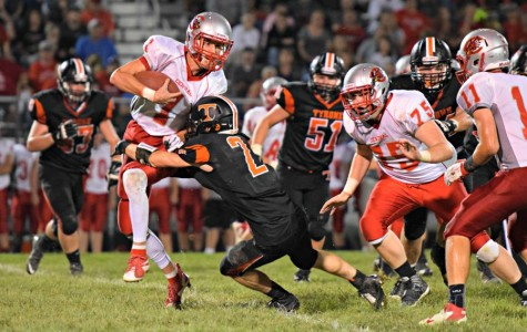 Golden Eagles suffer first loss, 48-14 against Central