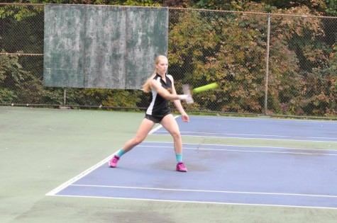 The streak for the Tyrone Varsity Tennis hits its demise