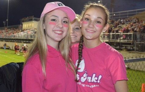 Fan Photo Flash: Tyrone vs. Bald Eagle Pink Out game