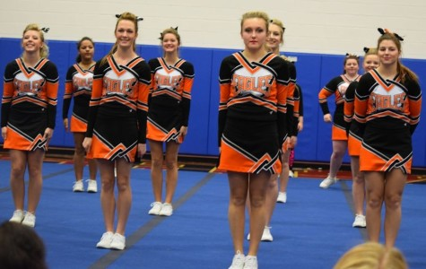 Cheerleading District Competition at TAHS this Saturday
