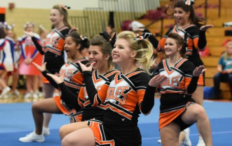 Tyrone Cheerleaders finish strong at district competition