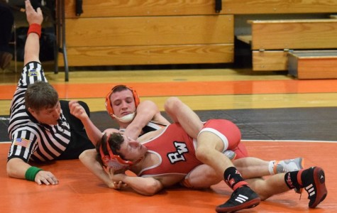 Tyrone wrestlers lose first home match vs Bellefonte