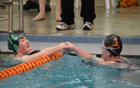 Marion Center Swimmers Top Tyrone in Close Meet