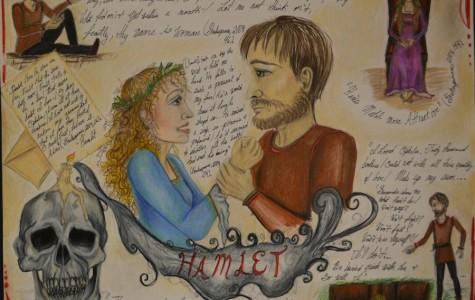 Visual Arts Bring Shakespeare to Life for TAHS Seniors