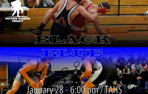 """Tyrone-Bellwood """"Black & Blue"""" match to support the Wounded Warrior Project"""