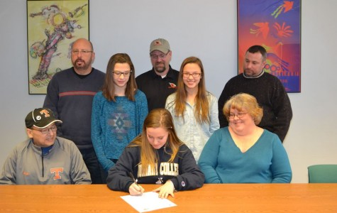 Tyrone Softball Standout Anna Baran Commits to Juniata College