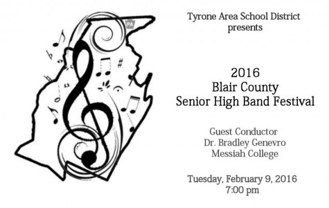 TAHS to host High School County Band Concert on Tuesday, February 9