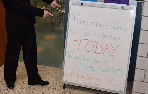 Prom Registration Deadline is Friday, April 15
