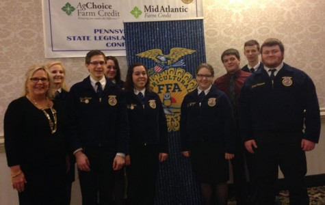 Tyrone FFA Members Attend State Legislative Leadership Conference