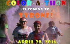 Color-A-Thon 5K Fun Run/Walk is Saturday, April 30