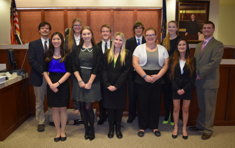 Mock Trial Finishes Season with a Win Over Hollidaysburg