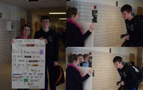 TAHS Promposal Contest: 'Take 5' to Read This Promposal