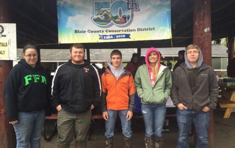 Tyrone FFA students place 5th at Blair County Envirothon