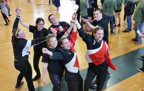 Tyrone Indoor Guard and Percussion Finish 1st at Westmont Hilltop