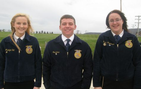 A Tyrone Area FFA Member Qualifies for Regionals