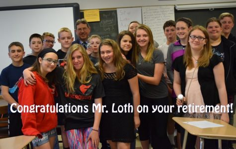 Seventh Grade Teacher David Loth to Retire After 29 Years of Service
