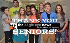 Thank You Eagle Eye Seniors!